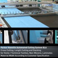 Parker's QLA Cutting & Stacking Machine